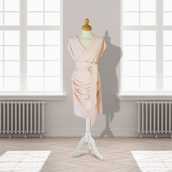 Designer Blush Pre/Post Pregnancy Knee Length Dress