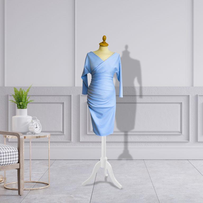 Designer Pre-Post Pregnancy Knee Length Dress