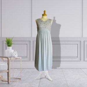 Grey Sequin Dress