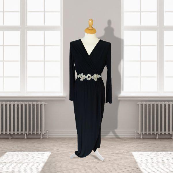 Full length Black Formal Dress
