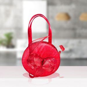 Coral Linen Bag