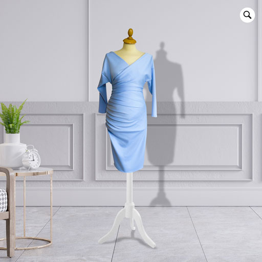 Designer Pre-Post Pregnancy Knee Length Dress