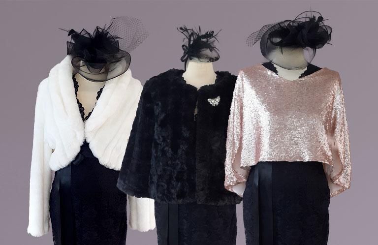 capes furs